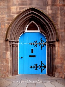 EdinburghBlueDoor