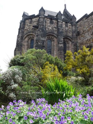 EdinburghCastleGarden