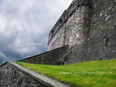 EdinburghCastleRampart