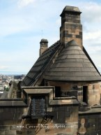 EdinburghCastleRoof
