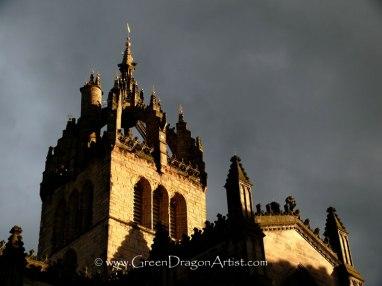 EdinburghStGilesSunset