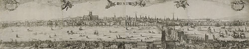 Visscher's London Panorama of 1616