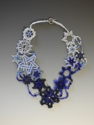 5 Snowflake Necklace